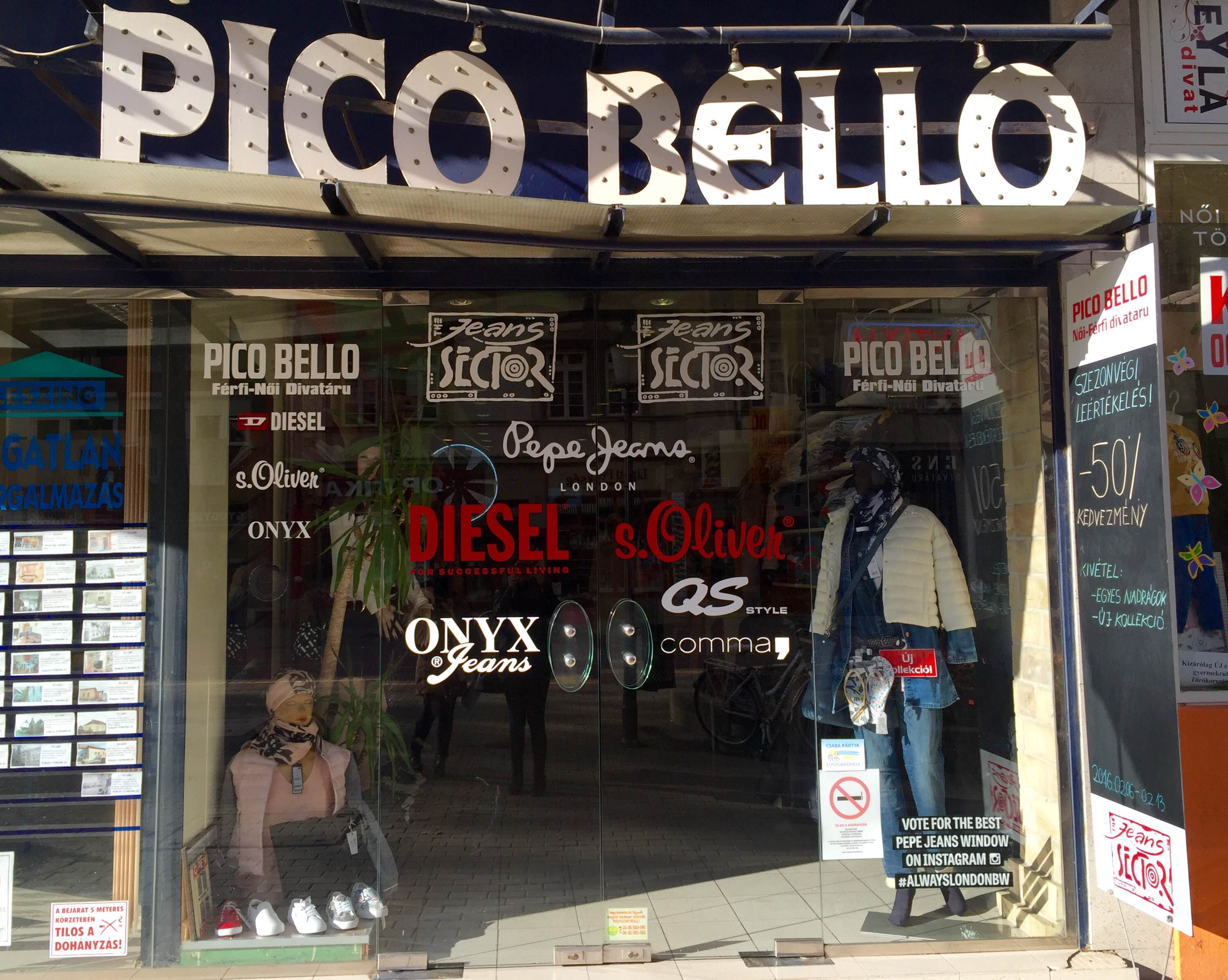 Pico Bello Jeans Sector